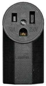 SURFACE RECEPTACLE WITH GROUND 50A /250V