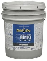 WATER-BASE PRIMERS INT/EXT MULTI PURPOSE PRIMER/SEALER 5-GALLON