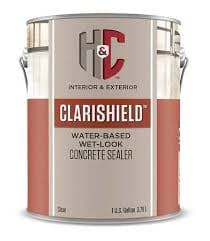 CLEARSHIELD WET LOOK WATER BASED CONCRETE SEALER
