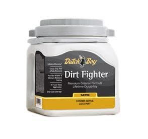 DIRT FIGHTER EXTERIOR SATIN TINT BASE M GALLON