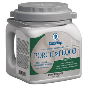 INT/EXT SEMI-GLOSS PORCH & FLOOR ENAMEL LIGHT GRAY GALLON