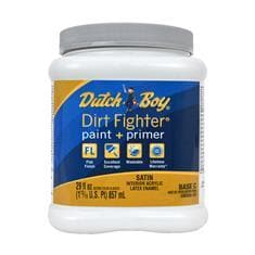 DIRT FIGHTER INTERIOR SATIN WHITE  T&P QUART