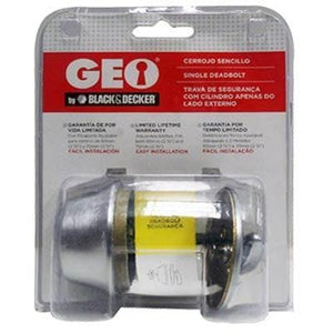 GEO LOCK DEADBOLT S/CYL 32D