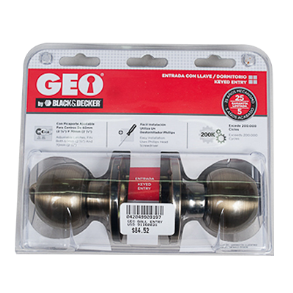GEO BALL ENTRY LOCK US5 91160031