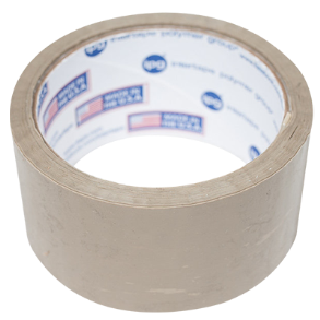 "TAN PACKAGING TAPE 2"" X 55 YARDS"
