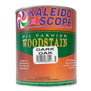 KALEIDOSCOPE OIL VARNISH 1LT DARK OAK