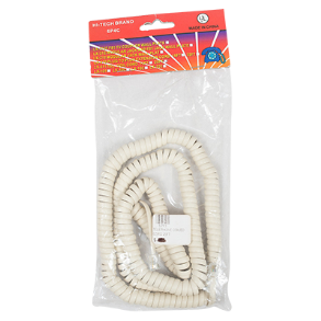 TELEPHONE HANDSET CORD COILED 25FT