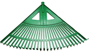27 TEETH PLASTIC RAKE WITH HANDLE HUNTER