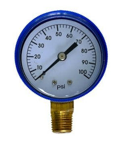 PRESSURE GAUGE SIDE CONNECTION