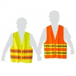 ORANGE PROFESSIONAL SAFETY VEST CENTURION