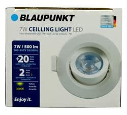 CEILLING LED LIGHT EYEBALL 7W 3000K BLAUPUNKT