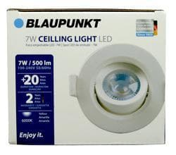 CEILLING LIGHT LED EYEBALL 7W 6000K BLAUPNKT