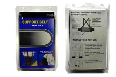 SUPPOPRT BELT X-LG