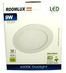 DOWNLIGHTER 9W 6500K ROUND ROOMLUX