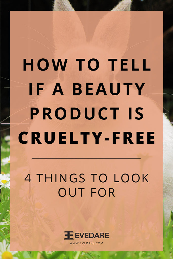 EVEDARE How to tell if a beauty product is cruelty-free