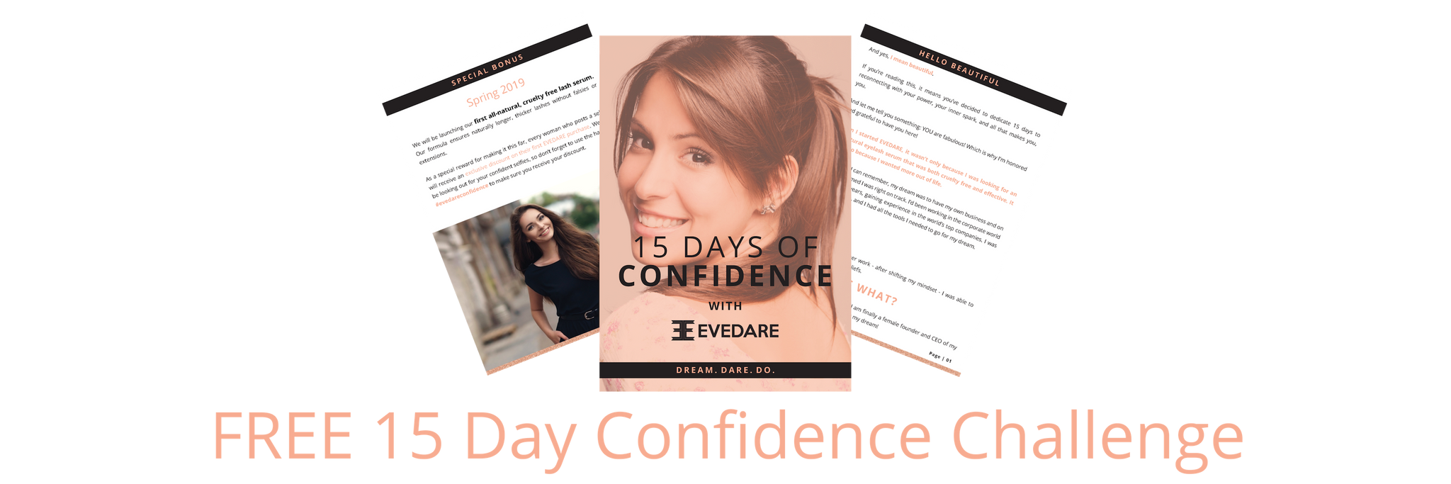 Free ebook 15 days of Confidence Challenge