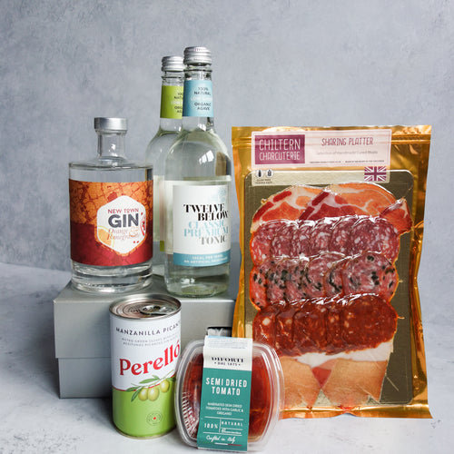 Gin & Snacks Hamper