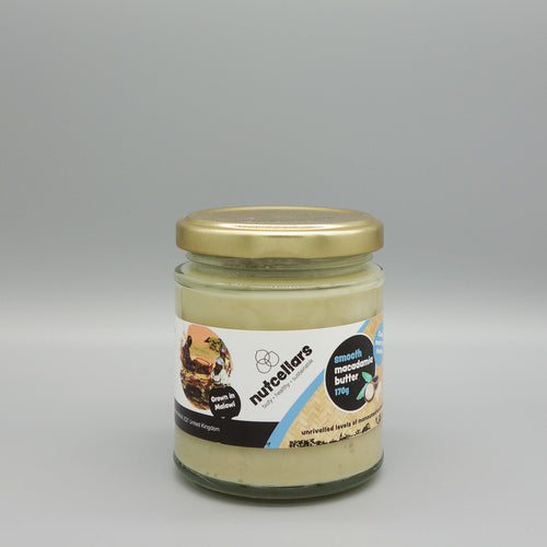 Macadamia Nut Butter (smooth)