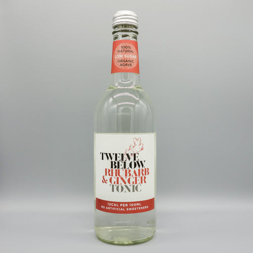 Rhubarb & Ginger Premium Tonic - Low Sugar