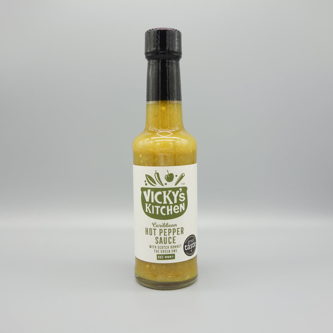 Hot Pepper Sauce - The Green One