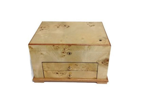 Tizo Wooden Two Drawer Jewelry Box