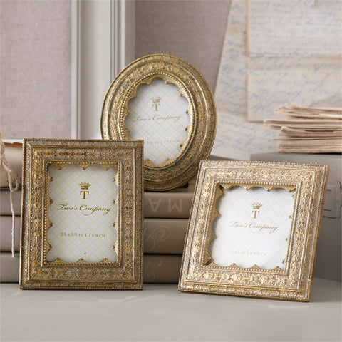 Vermeil Ornate Picture Frames