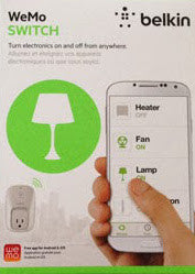WeMo Wi-Fi Switch $49.99