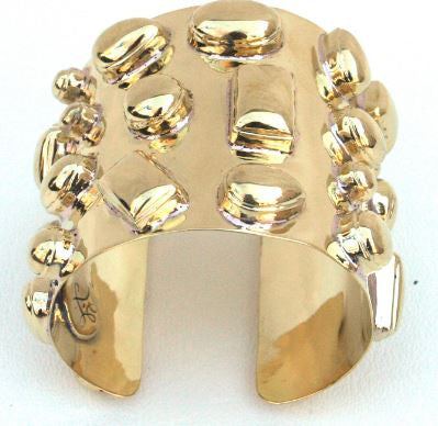 Bendall Cuff- All Gold