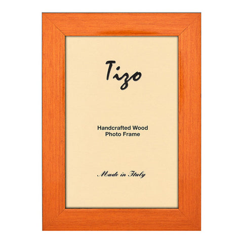 Tizo Orange Wooden Frame