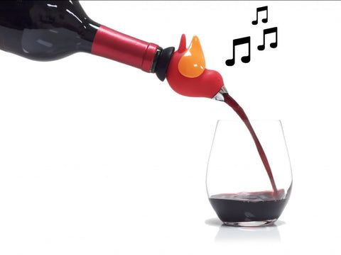 ChirpyTop™ Wine Pourer