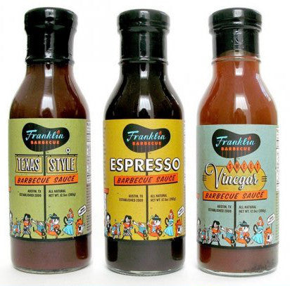 Franklin Barbecue Sauces