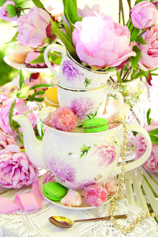 High Tea Pink Peonies Collection