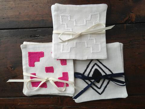 Geometric Cocktail Napkins
