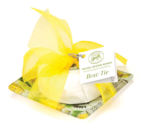 Michel Design Works - Bow Tie Scented Soap Lemon Basil