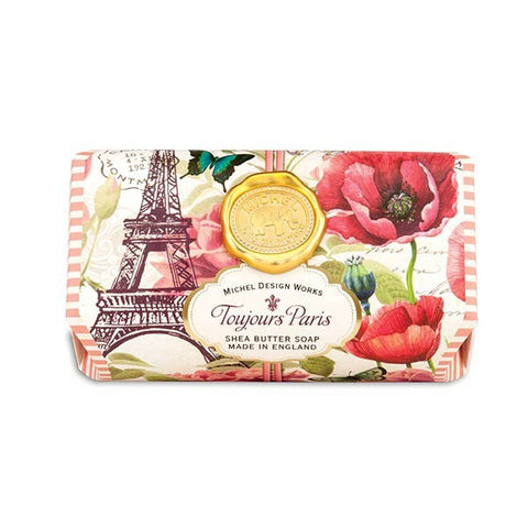 Toujours Paris Large Bath Soap Bar