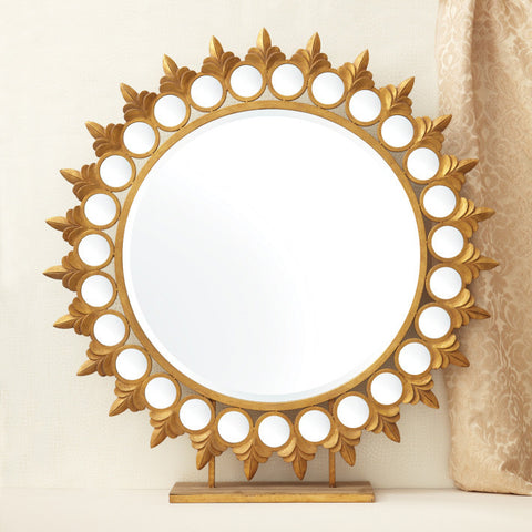 Two's Company - Sun Mirror on Pedestal