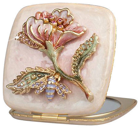Jay Strongwater's Michelle Bee & Vine Compact $225.00