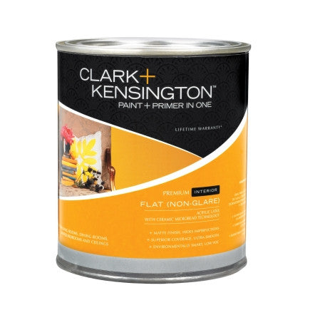 Clark +Kensington Paint and Primer in One Interior Flat