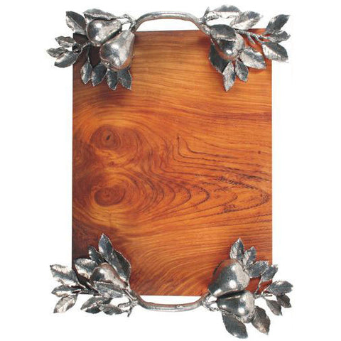 Vagabond House Wood Tray - Flowers & Bees