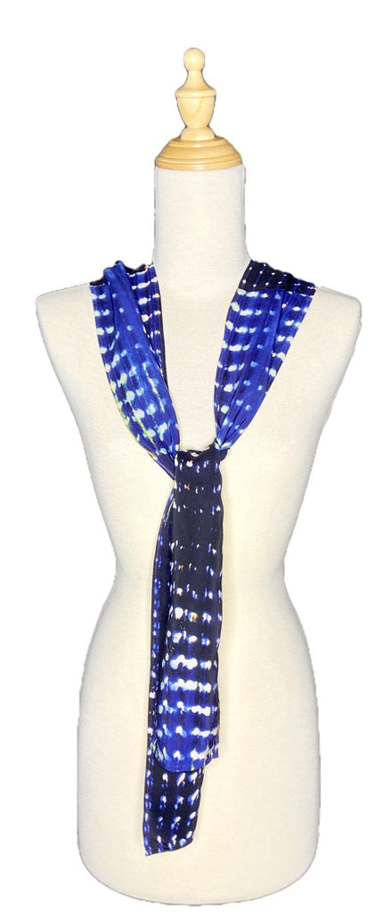 Cem - Abstract Dot Print Scarf-Repurposed Scarves-Inspire Me Scarves