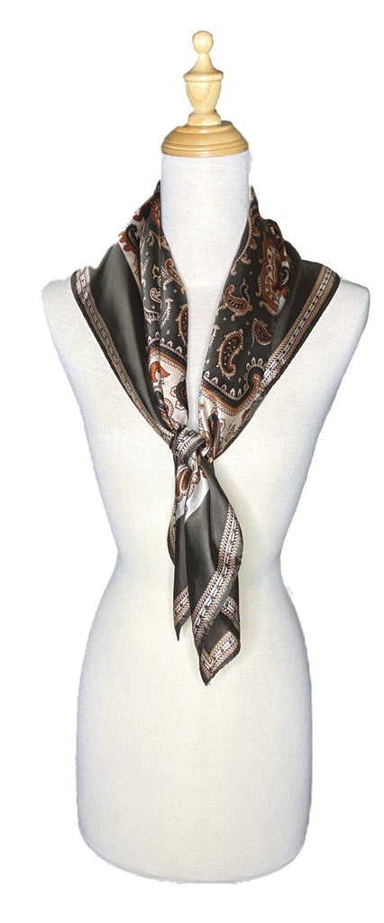 Domenic - Classic Scarf-Vintage/Silk/Other Scarves-Inspire Me Scarves