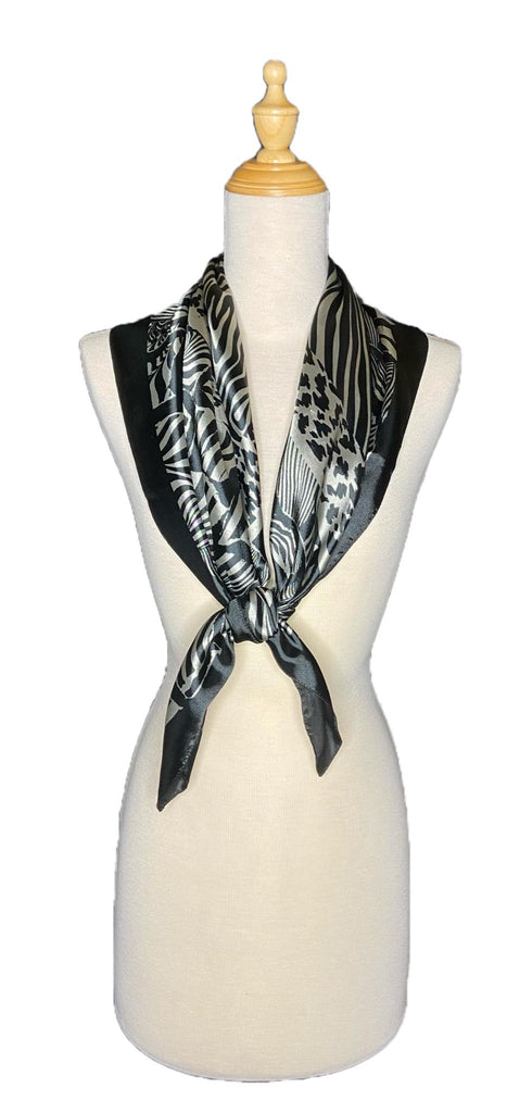 Journi - Classic Scarf-Vintage/Silk/Other Scarves-Inspire Me Scarves