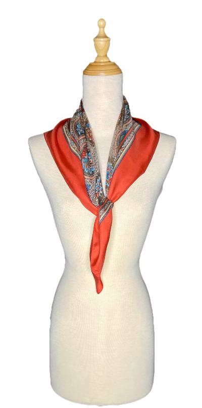 Rolf - Classic Medallion Scarf-Spring/Summer Inspired Scarves-Inspire Me Scarves