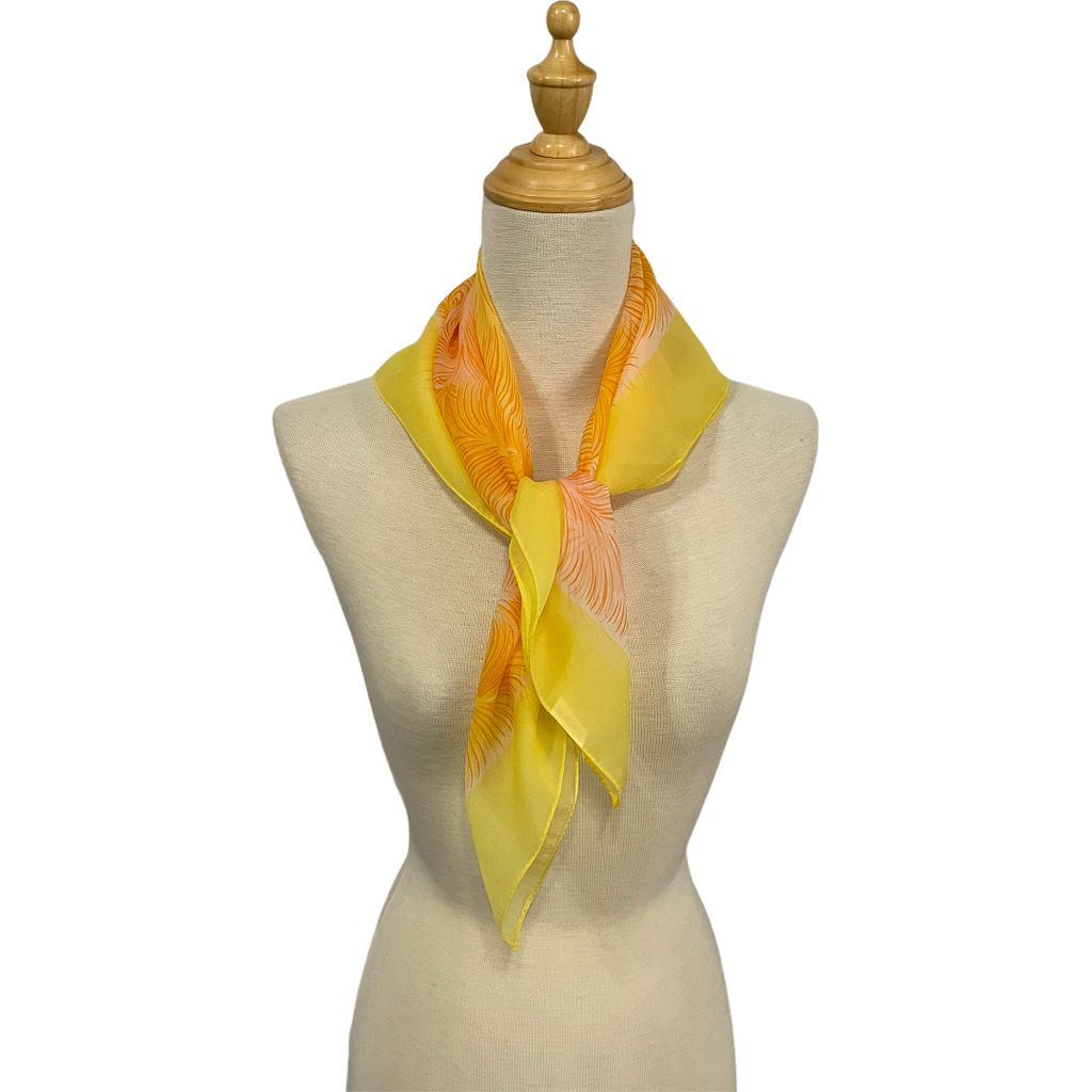 Taio - Vintage Glentex Scarf-Spring/Summer Inspired Scarves-Inspire Me Scarves