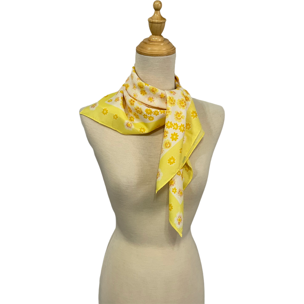 Ezmae - Yellow Scarf-Spring/Summer Inspired Scarves-Inspire Me Scarves
