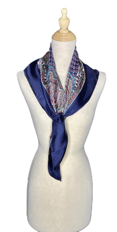 Adam-Classic-Paisley Inspired Scarf-Vintage/Silk/Other Scarves-Inspire Me Scarves
