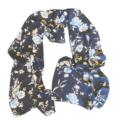 Freya - Classic Floral Scarf-Spring/Summer Inspired Scarves-Inspire Me Scarves