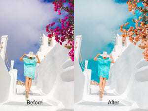 SANTORINI MOBILE LIGHTROOM PRESET