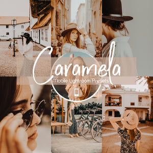Caramela Mobile Lightroom Preset