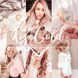 RoseGold Mobile Lightroom Preset